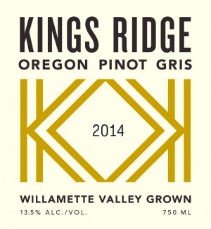 Kings Ridge Oregon Pinot Gris