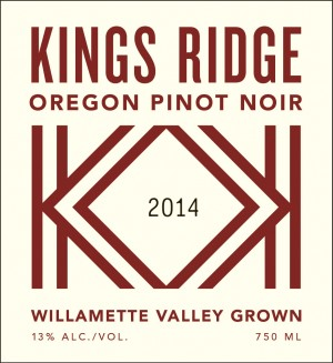 Kings Ridge Oregon Pinot Noir
