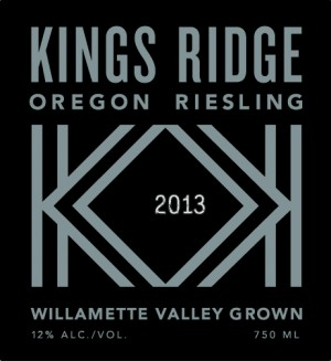 Kings Ridge Oregon Riesling
