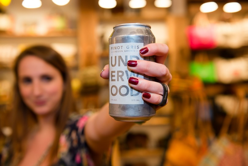 Our Pinot in a can is here.