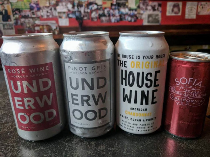 Canned wine is cheap and convenient. Here's where to drink it around Washington