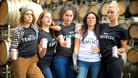 "Underwood Wine and ""Wild Feminists"" Team Up for Planned Parenthood"