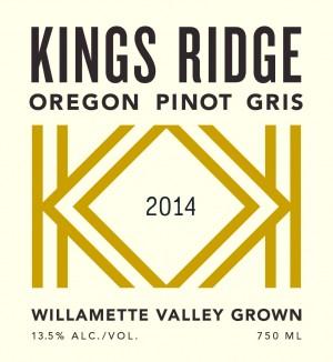 Kings Ridge Oregon Pinot Gris