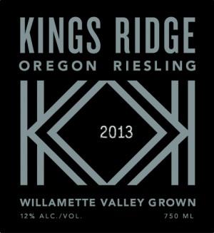 Kings Ridge Oregon Riesling