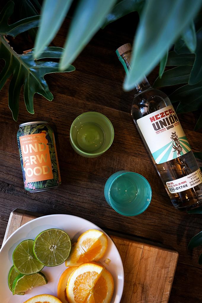 Underwood Riesling Radler Cocktails