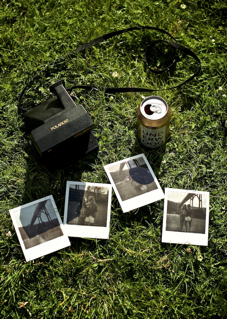 Underwood Wine Polaroids