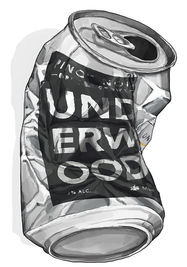 Underwood Pinot Noir Illustration
