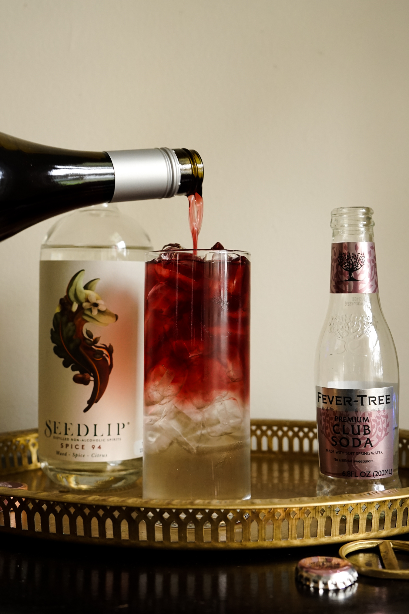 Underwood Pinot Noir Seedlip Cocktail