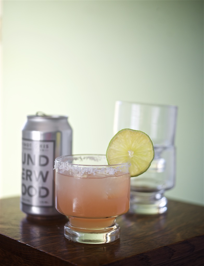 Salty Mule Cocktail