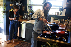 At home with JP, Union's Winemaker.