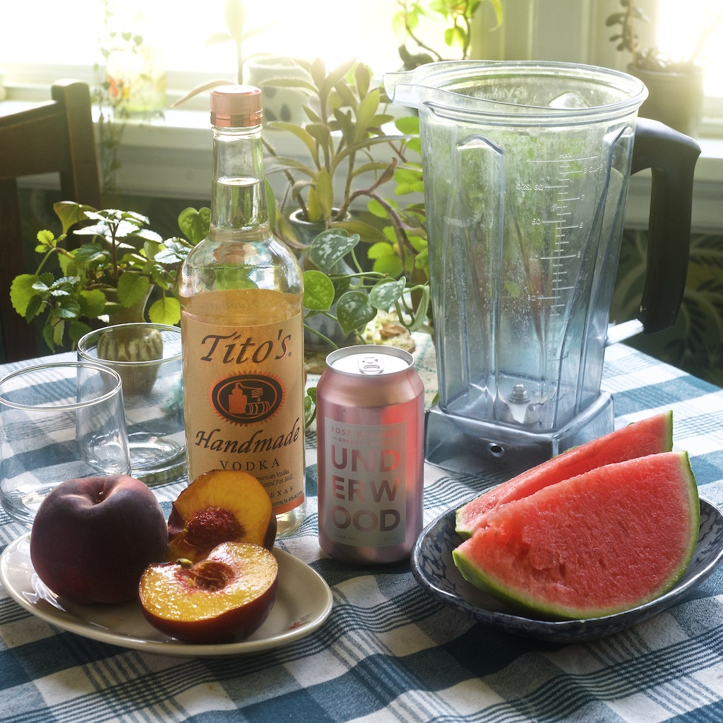 Fruity Frozé Ingredients