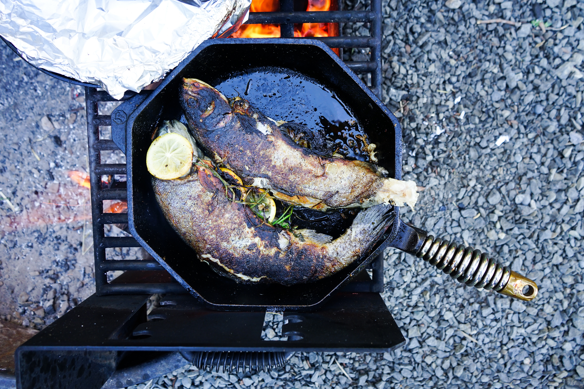 Pan Roasted Trout